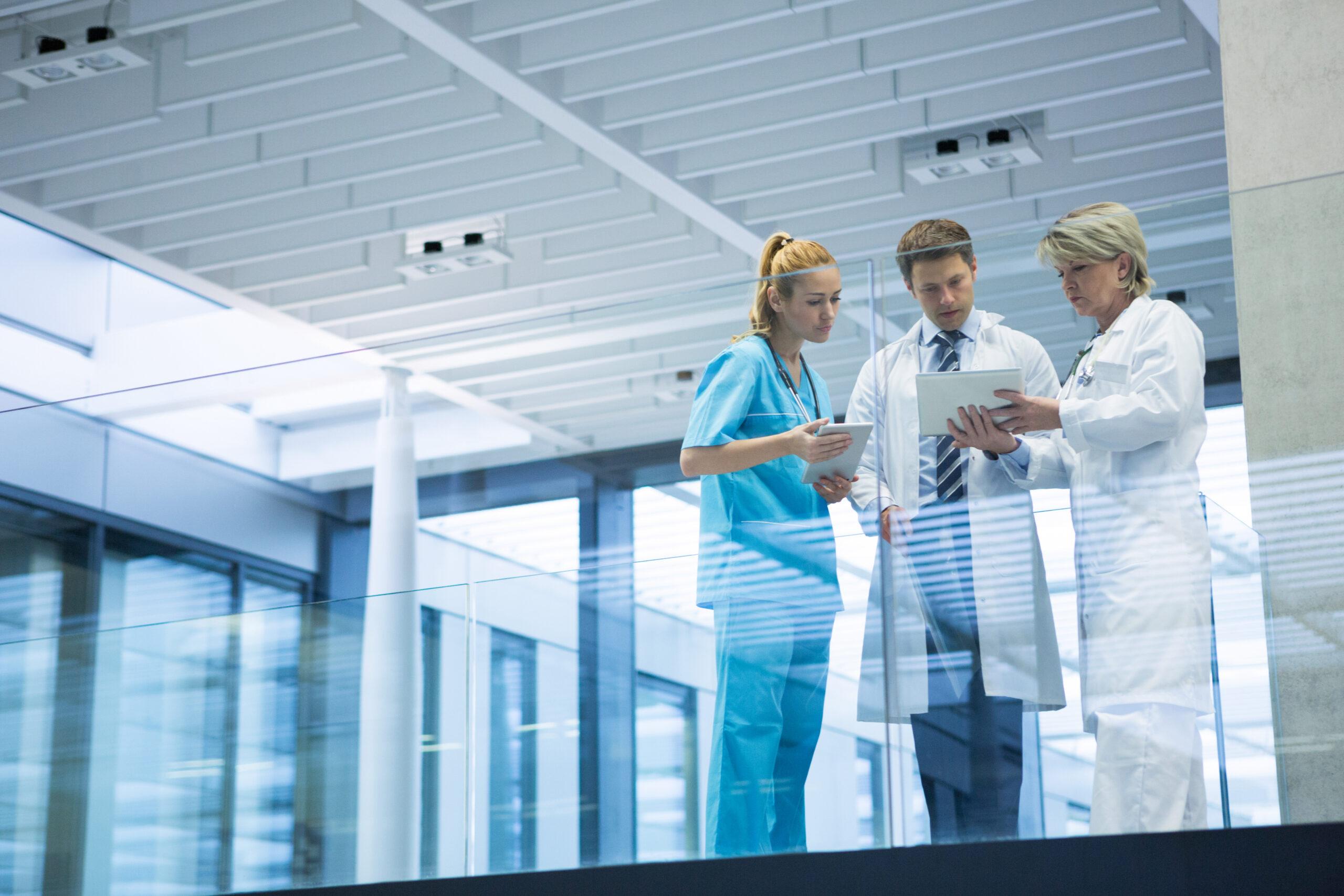 medical team discussing